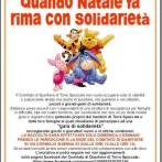 Quanto Natale fa rima con Solidarietà 2014