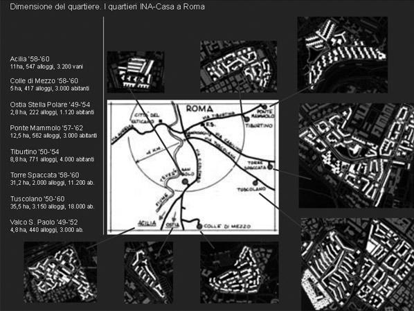 Quartieri INA-Casa a Roma